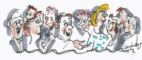 Gemeinsamkeiten entdecken erleichtert das Small-Talk-Gespräch.